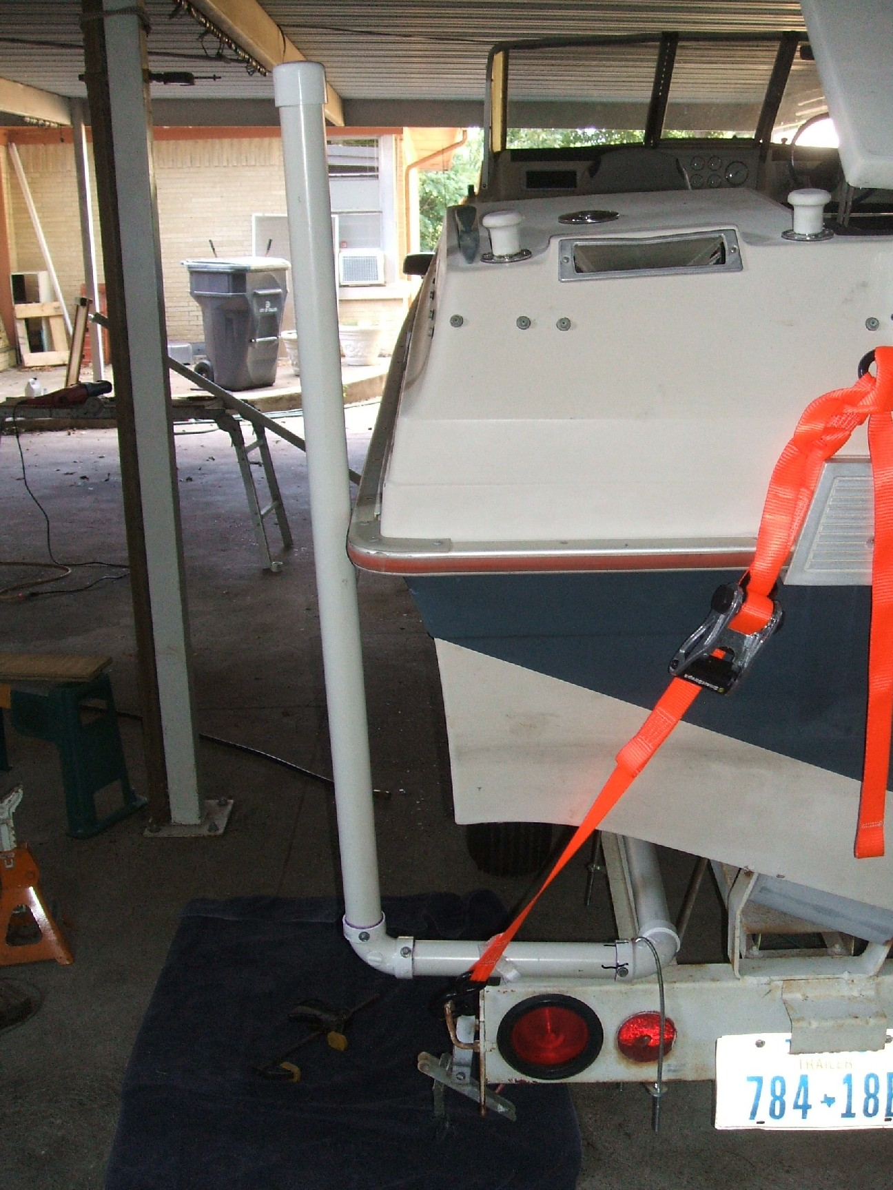 Homemade Boat Trailer Guide Ons Homemade Ftempo