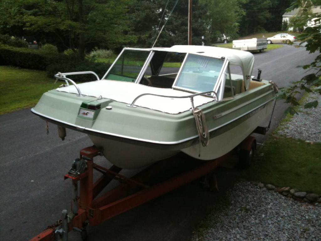 Johnson Seasport Photo Gallery Chris Craft Model A Engine Diagram Owner Paul Bissonnette Boat Name Ms Oscar Make 16 Ii Year 1969 V 6 155hp Location Goffstown Nh
