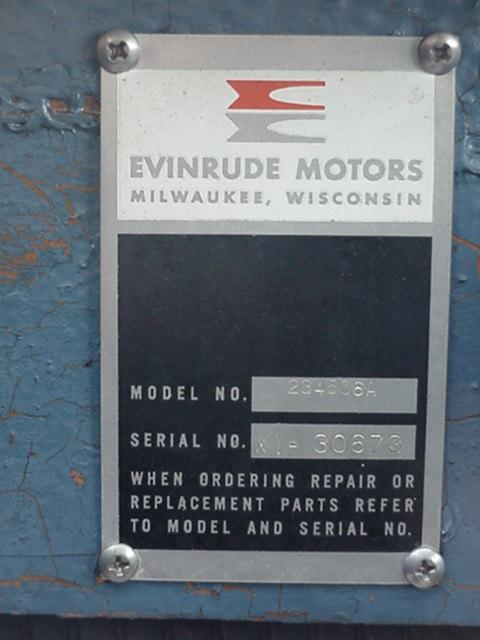 OMC, Evinrude and Johnson Boats